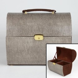 Beauty Case Beige Serpent Luxe